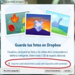 Importar Dropbox