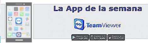 App de la semana - Teamviewer